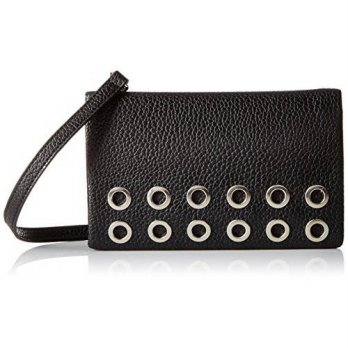 [macyskorea] Nine West Table Treasures Foldover Convertible Cross Body, Black, One Size/13711814