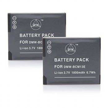 [macyskorea] QIAOJINLIN 2-Pack Backup Battery for Panasonic DMW-BCM13E DMW-BCM13PP Lumix D/15654933