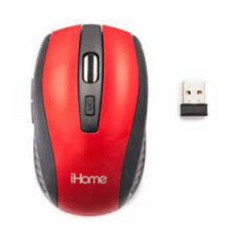 [macyskorea] IHome iHome Red 6-Button 2.4GHz Optical Wireless Mouse/15768740
