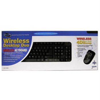 [macyskorea] Sakar I Concepts Wireless Keyboard & 4D Wireless Wheel Scroll Mouse/15769859