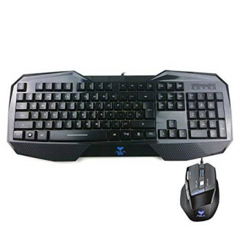 [macyskorea] AULA Backlit Gaming Keyboard and Mouse Combo with Adjustable Backlight (SI-85/15769839