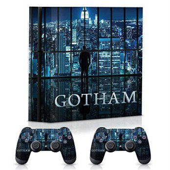 [macyskorea] Controller Gear Gotham City Skyline - PS4 Combo Skin Set for Console and Cont/15778417