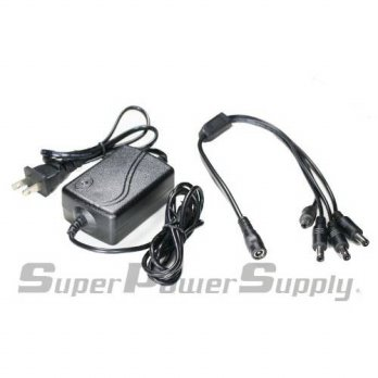 [macyskorea] Super Power Supply 12V AC / DC Adapter For CCTV Security Camera with 4 Port I/15654437