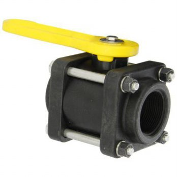 [macyskorea] Banjo Corp Banjo V150 Polypropylene Ball Valve, Three Piece, Standard Port, 1/15762797