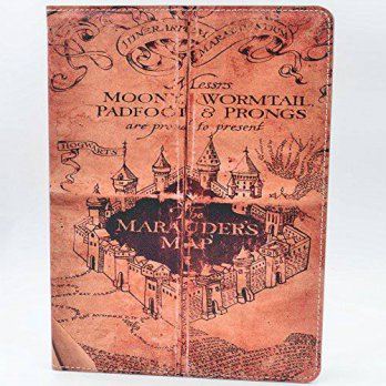 [macyskorea] YHB ipad Air CASE Hogwarts Marauders Map Vintage Retro Pattern Leather Flip S/15839842