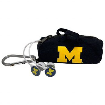 [macyskorea] AudioSpice NCAA Michigan Wolverines Scorch Earbuds with Bud Bag/15664992