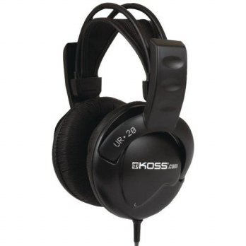 [macyskorea] Koss Leatherette Ear Cushions, UR20 Full-Size Over-The-Ear Headphones, Black/15664943