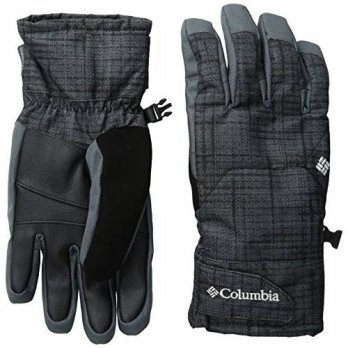 [macyskorea] Columbia Mens Whirlibird Short Gloves, Black Tweed Plaid Print, Large/13974705