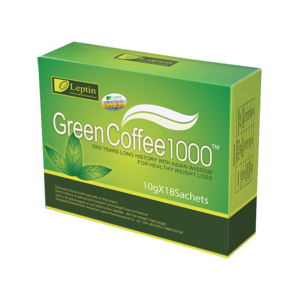 GREEN COFFEE 1000 LEPTIN ORIGINAL / KOPI DIET LANGSING