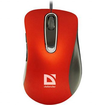 [macyskorea] Defender Wired optical mouse Datum MM-070 red 5 buttons 1000 dpi/15769913