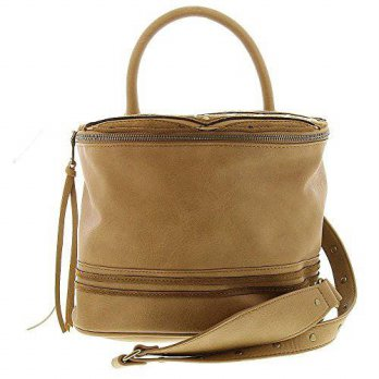 [macyskorea] Steve Madden Womens Bkimora Faux Leather Studded Crossbody Handbag, Tan/15182370