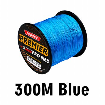 Senar Tali Pancing 8 Weaves Braided Line 0.6mm 300 Meter - Blue