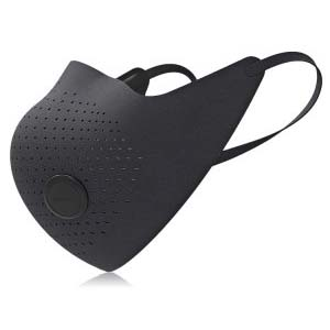 Xiaomi MiJia Airwear Masker Anti Polusi PM2.5 - Black