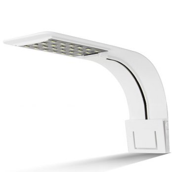 Lampu Aquarium LED Light Super Slim Clip On 10W - X5 - White