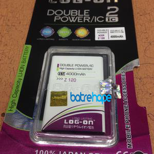 Baterai Battery Double Dobel Power Log-on Logon Acer Z2 / Z120 4000Mah