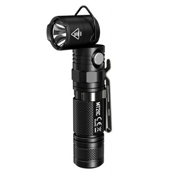NITECORE MT21C Senter LED CREE XP-L HD V6 1000 Lumens - Black