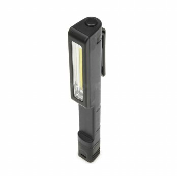 Senter Pena Mini LED 1.5W COB 160 Lumens - Black