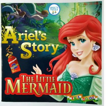 Buku Cerita Anak Bilingual 2 Bahasa - Ariel's Story The Little Mermaid