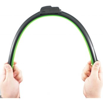 Wiper Blade Kaca Mobil Frameless U Shape Hook - 24 Inch - Black