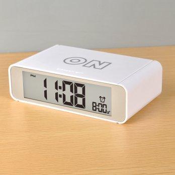 Jam Alarm Digital - White