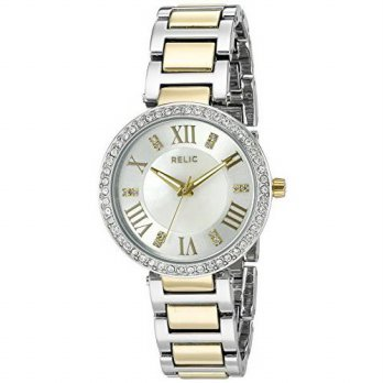 [macyskorea] Relic Womens Isabelle Quartz Two Tone Casual Watch (Model: ZR34360)/15780854