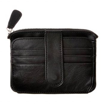 [macyskorea] ZLYC Vegetable Tanned Leather Credit Card Holder Slim Front Pocket Coin Purse/13703520