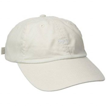 [macyskorea] Obey OBEY Mens Jumble Bar 6 Panel Hat, Cream, One Size/13701510