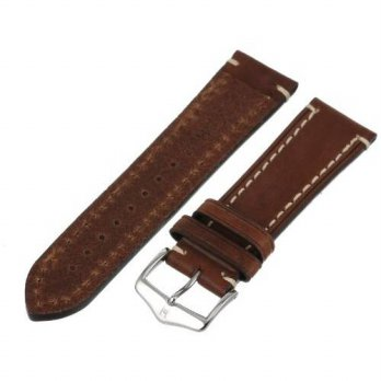 [macyskorea] Hirsch 109002-10-24 24 -mm Genuine Calfskin Watch Strap/15780940