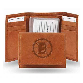 [macyskorea] Rico NHL Boston Bruins Embossed Leather Trifold Wallet/13691261