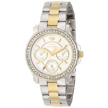 [macyskorea] Juicy Couture Womens 1901107 Pedigree Multi-Eye Crystal Bezel Watch/15780640