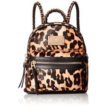 [macyskorea] Juicy Couture Black Label Calf Hair Printed Mini Backbag with Gold Chain Deta/13320179