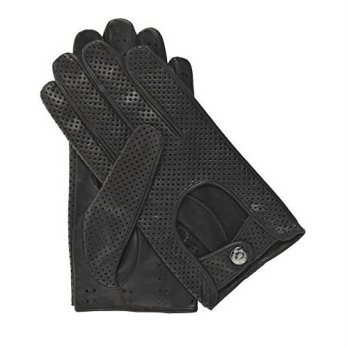 [macyskorea] Fratelli Orsini Mens Ventilated Leather Driving Gloves Size 7 Color Black/13777754