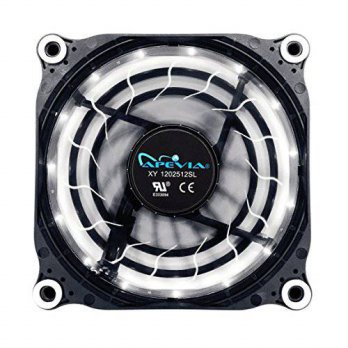 [macyskorea] Apevia APEVIA 12L-DWH 120mm Silent Black Case Fan with 15 x Blue LEDs & 8 x A/16128836