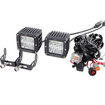 [macyskorea] Glare 30W LED Pods Driving Light with Harness Switch for Jeep Off Road truck /14251215