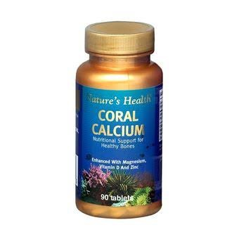 NATURES HEALTH CORAL CALCIUM 90 Tablets