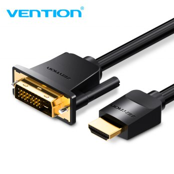 Vention Kabel Video Adapter HDMI to DVI 24+1 1080P 5M - Black