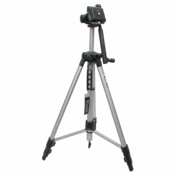 Weifeng Aluminium Tripod Photo And Video With 3-Way Head - W-350 - Black