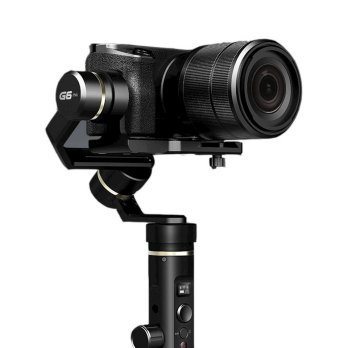 Feiyu Tech G6 Plus 3-Axis Handheld Gimbal Splashproof for Mirrorless Camera - Black
