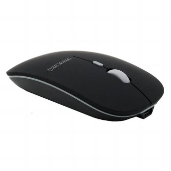 Azzor Super Slim Silent Optical Wireless Mouse 2.4GHz - N5 - Matte Black