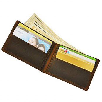 [macyskorea] Ogem Handmade Mens Genuine Cowhide Leather Vintage Bifold Wallet with Card ho/14568910