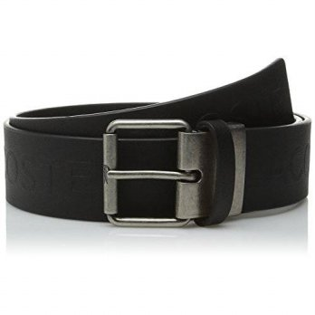 [macyskorea] Lacoste Mens Sportswear Leather All Over Embossed Logo Belt, Black, 43/14582554