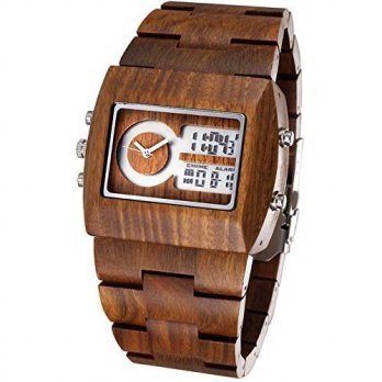 [macyskorea] NOC Eco-Friendly And Comfortable Men Dual-display Watch With 100 Natural Sand/15810589