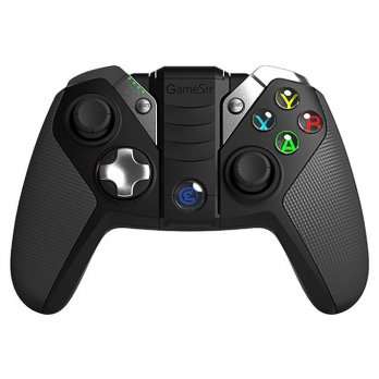 GameSir G4s Gamepad Bluetooth PS3 Android dengan Smartphone Holder - Black