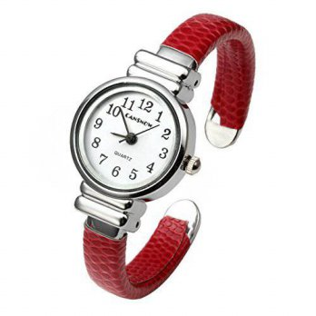 [macyskorea] Top Plaza Kids Girls Watch Women Chic Simple Bracelet Cuff Watch Gift, Red/15810751