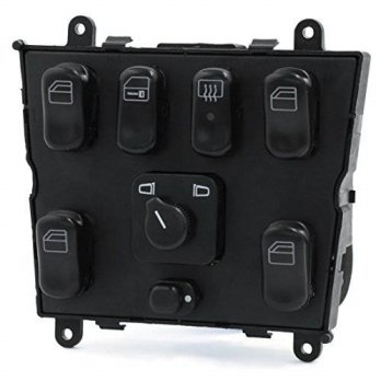 [macyskorea] Uxcell uxcell 1638206610 Master Power Window Switch 1998-2003 for Mercedes Be/14252075