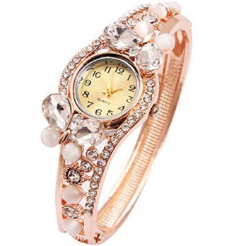 [macyskorea] MINHIN Wrist Watch for Female Butterfly Gold Bangle Wrap Watch/15810832
