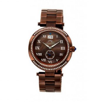 [macyskorea] Porsamo Bleu South Sea Crystal Stainless Steel Dark Brown Womens Watch 104DSS/15810179