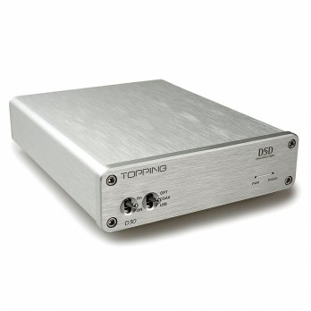 Topping D30 High Resolution USB DAC - Silver