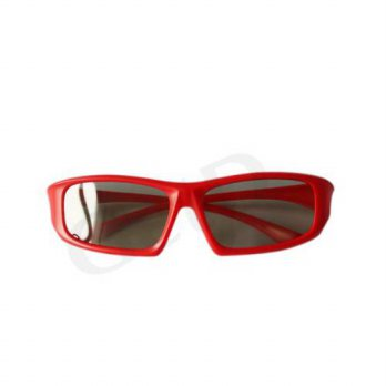 [macyskorea] UltraByEasyPeasyStore 1 Pair of Red Passive 3D Glasses Universal for all Pass/14615026