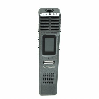 Perekam Suara Digital Voice Recorder MP3 Player 8GB - X1 - Gray